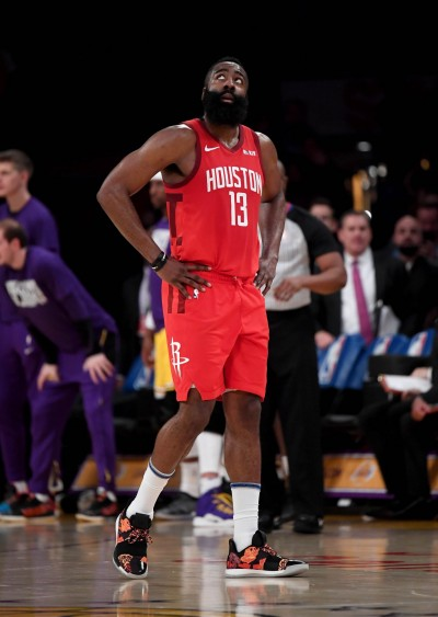 NBA》哈登賽中拉傷頸部 恐缺席明日作客勇士之戰