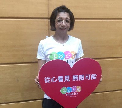 路跑》「球后」范榮玉、「天后」Selina 站台臉部平權運動國道馬拉松