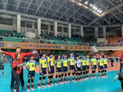 JHVL》建國女排稱后!雲林第一座全國甲組聯賽冠軍