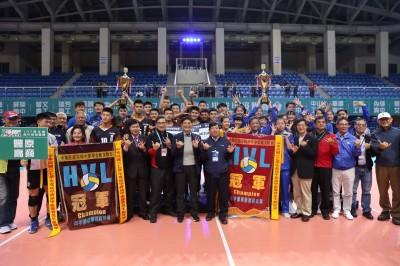HVL》高中排球聯賽台中風光封王封后 市府發出206萬獎金