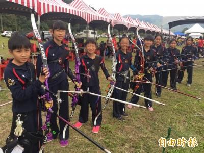全國青年盃射箭錦標賽  竹市射出10金3銀3銅