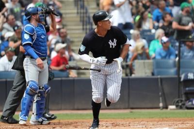 MLB》藍鳥再度祭出「四人外野」洋基法官一棒轟破佈陣