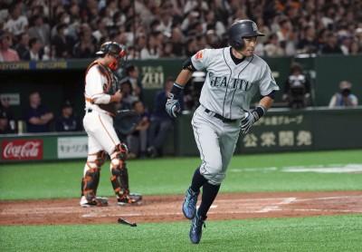 MLB》先發出場「震盪」巨蛋 鈴木一朗首戰3支0(影音)