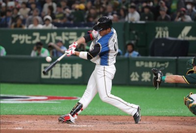 MLB海外賽》王柏融對大聯盟投手敲長打  火腿到手的勝利卻飛了