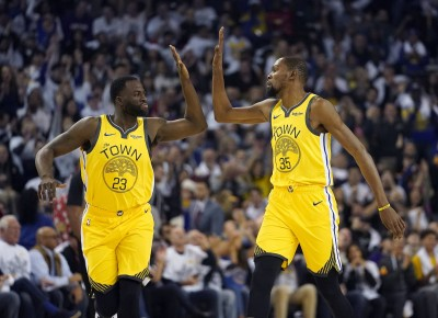 NBA》放下彼此心結 追夢綠:只要KD還在勇士將奪冠