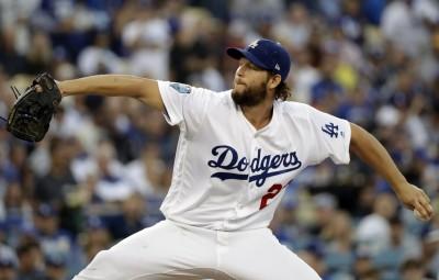 MLB》克蕭確定趕不上開季 中斷連8年開幕戰先發紀錄