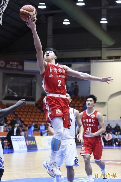 SBL》台銀「狀元」陳昱瑞不是水貨 生涯首奪單週MVP