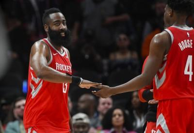 NBA》哈登砍31分率火箭勝老鷹 還打破柯瑞單季三分出手紀錄