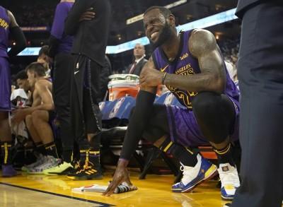 NBA》詹皇又因腹股溝傷勢缺席   湖人仍打算將他「用好用滿」