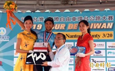 自由車》環台賽南投站 台灣隊馮俊凱守住亞洲冠軍