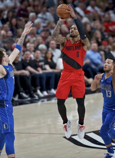 NBA》里拉德砍全場最高33分 拓荒者力克獨行俠