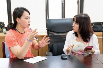 國訓中心結合文藻大學外語師資 郭婞淳、陳念琴英語能力提升