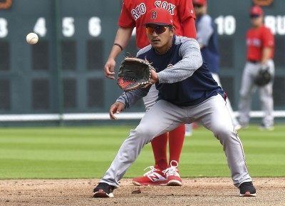 MLB》久違的大聯盟熱身賽 林子偉替補守二壘無安打
