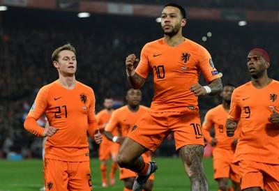 足球》德佩梅開二度 荷蘭大勝白俄羅斯