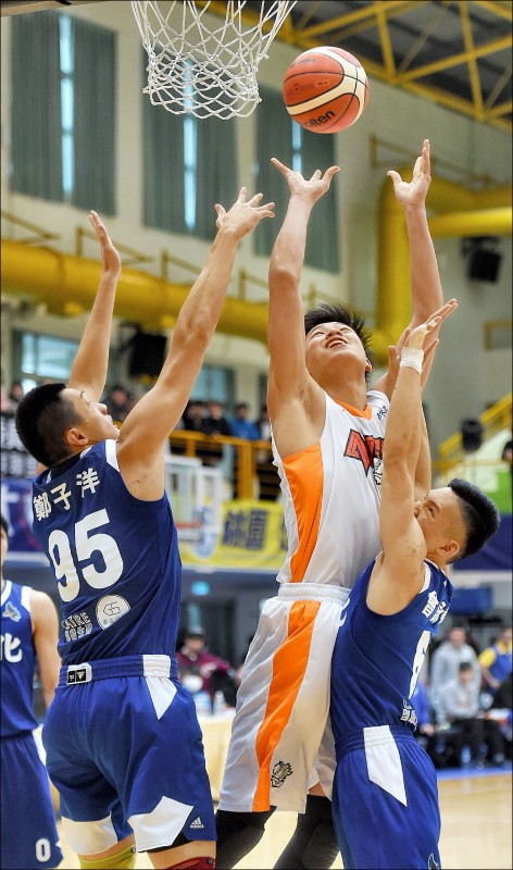 UBA》健行強碰國體 台師大問鼎第4冠