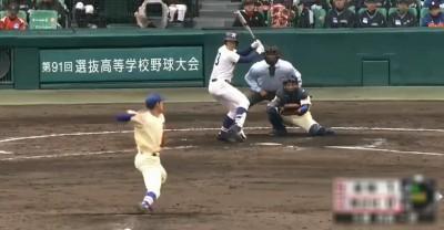 春甲》日本怪物高中生!飆17K讓對手大驚:球消失了(影音)