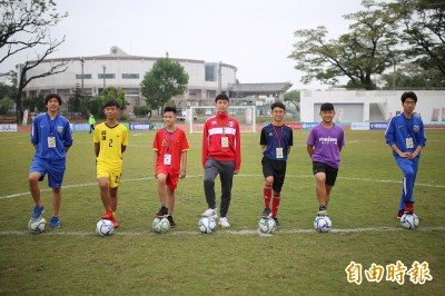 邁開台灣足球夢 國際青少年足球賽屏東登場