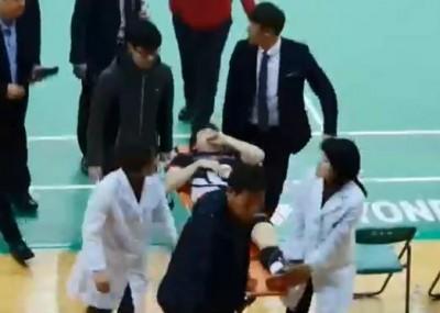 羽球》慘!南韓一哥跟腱斷裂  出征東奧添變數