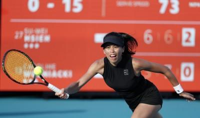 網球》謝淑薇邁阿密女單8強週三凌晨2時出擊 「球后殺手」正面對決