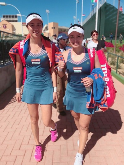 網球》詹家姊妹雨停關門 邁阿密2連勝晉女雙8強