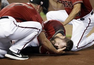 MLB》左膝嚴重受傷 響尾蛇30轟級外野整季報銷