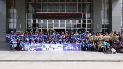 11天1008公里環島 菁英車隊捐贈近千名學童超過五百萬助學金