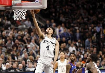 NBA》懷特扮奇兵狂飆36分 馬刺主場擊退金塊收第2勝