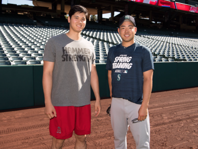 MLB》大谷與學長菊池相見歡! 日鄉民全聚焦在「這裡」