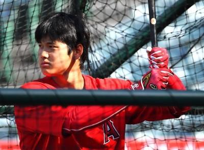MLB》大谷驚人怪力再現 傷後首度戶外練打就敲9轟