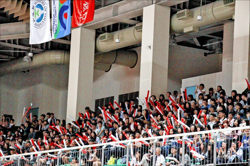 亞俱盃男排賽》贏在青春活力!台灣男排晉8