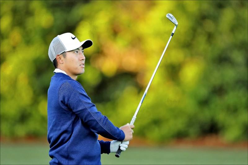 PGA傳承盃》小潘逆風高飛 次日衝第5