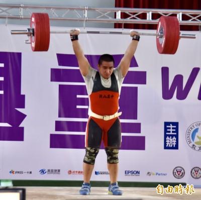 全中運》有夠猛!謝孟恩體重最輕 大勝銀牌42公斤豪取金牌