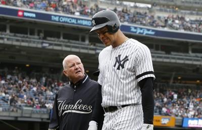 MLB》法官傷勢嚴重歸期不明 洋基重砲捕手傳好消息