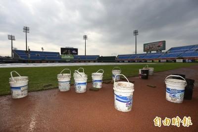 中職》雨神攪局 桃園雙重戰兩場都延賽