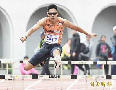 48秒92創生涯最佳 「跨欄王子」陳傑奪亞洲田徑錦標賽銀牌