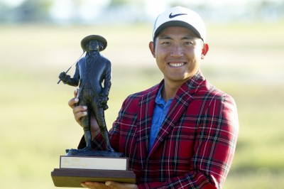 高球》台灣32年第1人 潘政琮奪PGA美巡賽生涯首冠