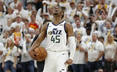 NBA》米契爾末節16分開無雙   爵士主場拆火箭扳回一城