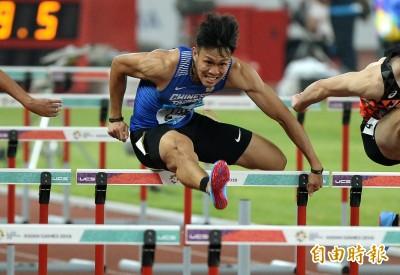 亞田賽》「台灣欄神」陳奎儒110跨欄飆本季最佳 晉級決賽
