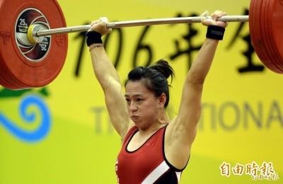 舉重亞錦賽》創新世界紀錄!郭婞淳抓舉率先進帳金牌