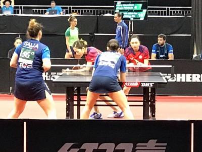 世桌賽》台灣大四喜  4組男、女雙打都進16強