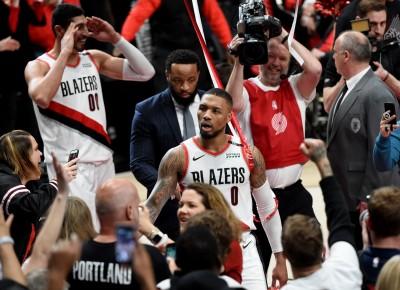 NBA》救世主!里拉德超遠三分彈絕殺 拓荒者淘汰雷霆(影音)