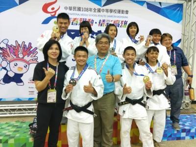 全中運》台東奪得22金18銀22銅 高女組柔道東體三連霸