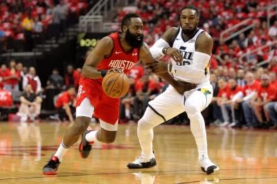 NBA》哈登砍26分還賞4次火鍋 火箭淘汰爵士晉級