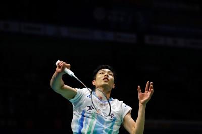 羽球亞錦賽》周天成晉四強 締造台灣男單20年來最佳成績