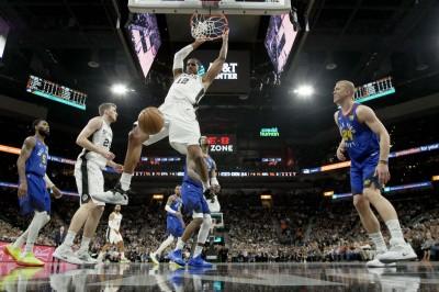 NBA》約基奇飆43分做白工 馬刺退金塊戰線延至第7戰