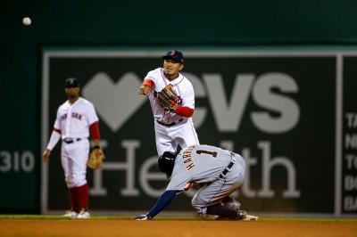 MLB》林子偉連兩場代守 德弗斯致勝二壘打助紅襪笑納2連勝