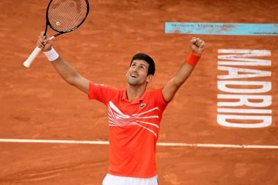 網球》喬帥強壓7784馬德里再封王 名人賽33冠追平蠻牛