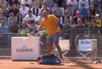 網球》澳洲壞小子抓狂摔椅子遭判失格 對手直言該禁賽半年