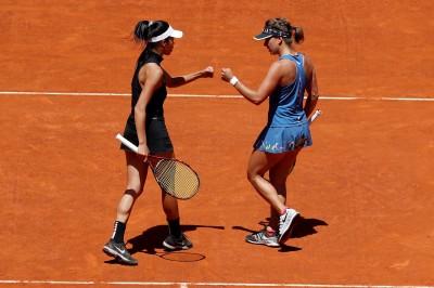 網球》無緣背靠背摘冠 謝淑薇羅馬女雙止步16強