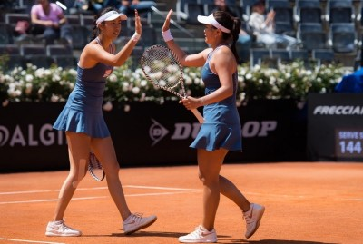 網球》連兩天「超級搶10」 詹家姊妹4強止步